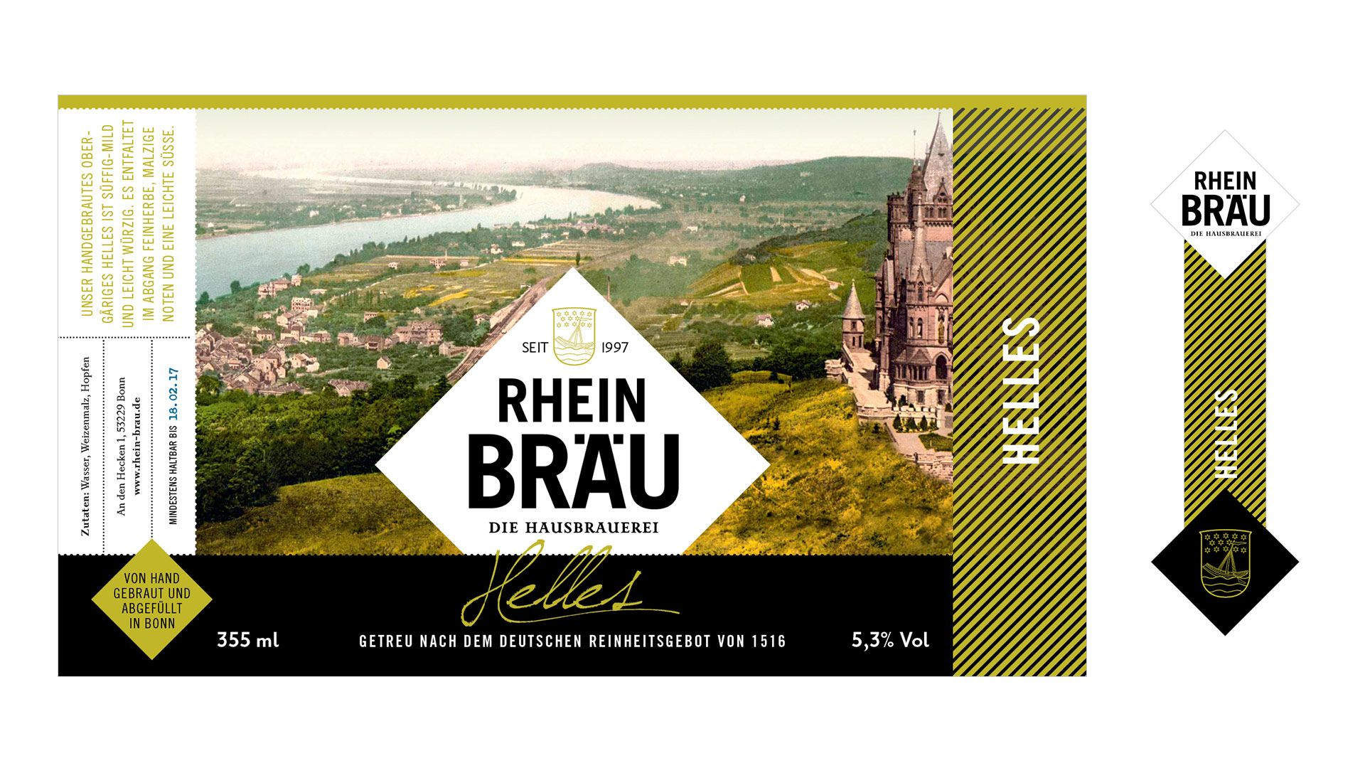 Rhein Bräu - Helles
